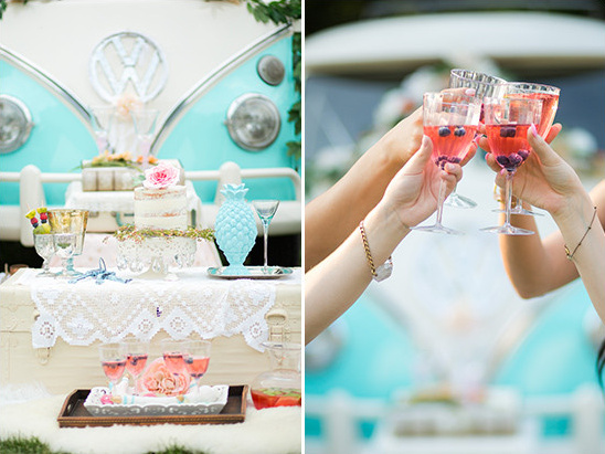 summer cocktails @weddingchicks