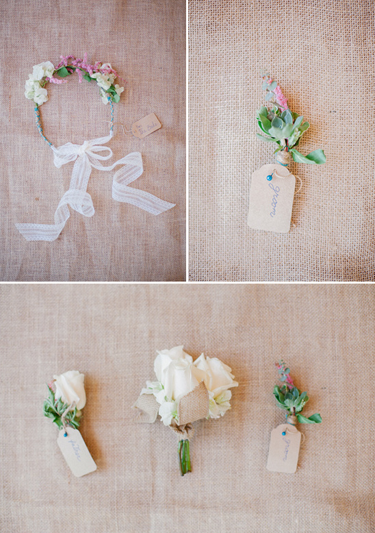 wearable wedding florals @weddingchicks