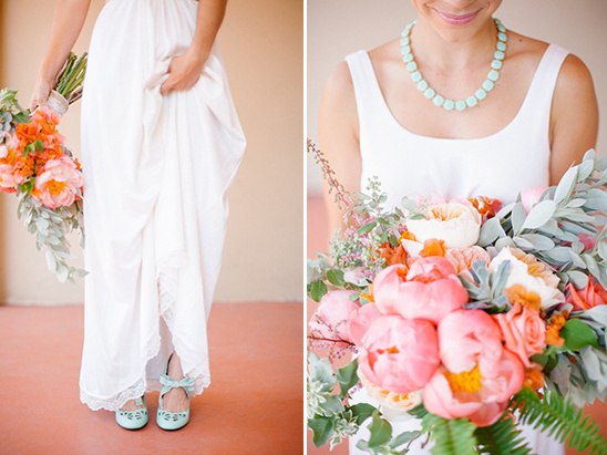 mint bridal accents @weddingchicks
