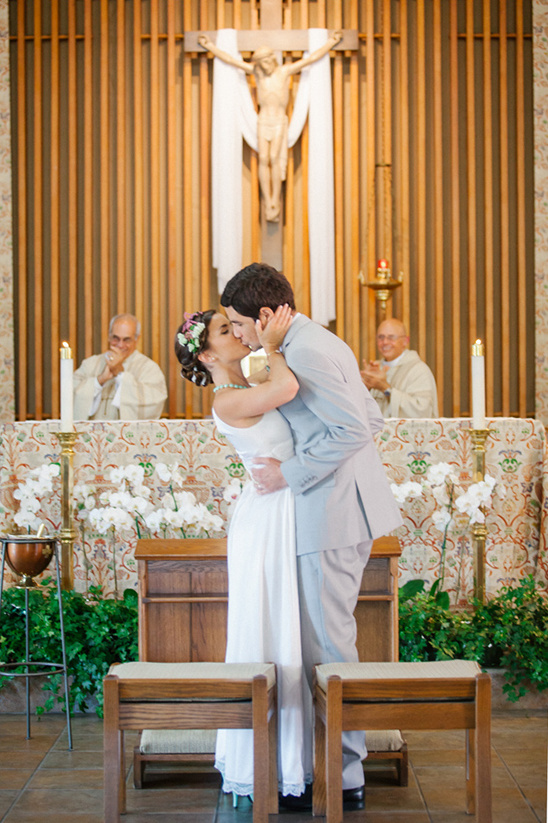 intimate church wedding @weddingchicks