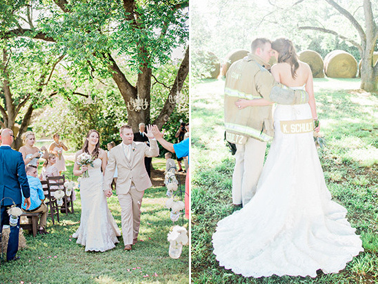 fire fighter wedding ideas @weddingchicks