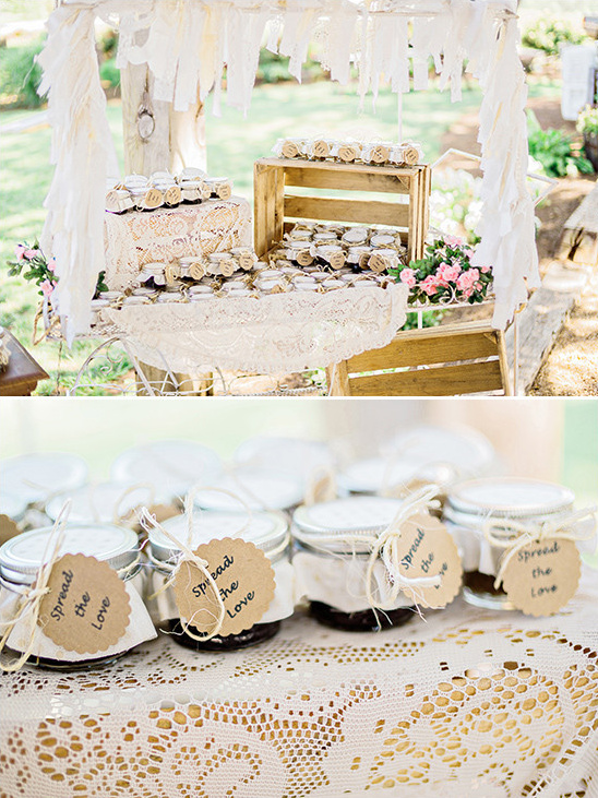 wedding jam favors @weddingchicks