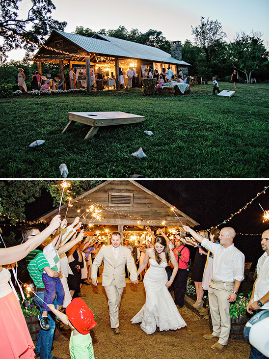 rustic wedding reception @weddingchicks