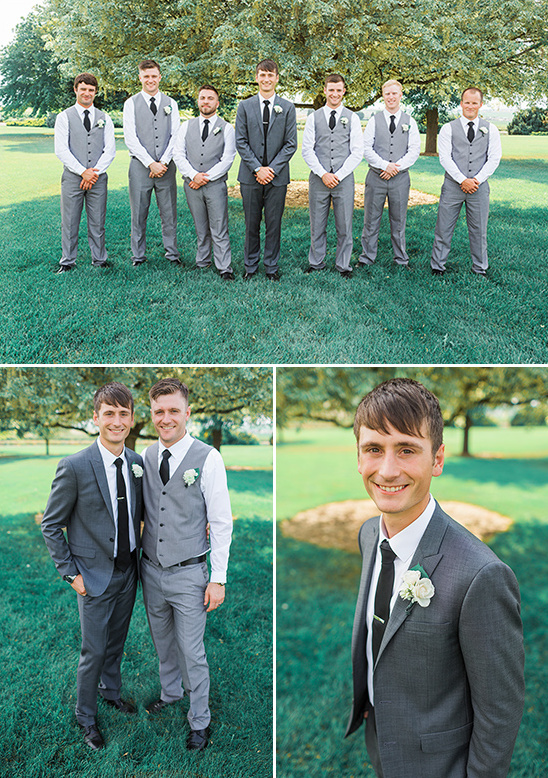 grey groomsmen @weddingchicks