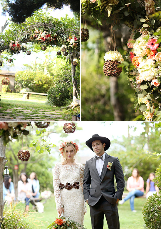 wedding arch ideas @weddingchicks