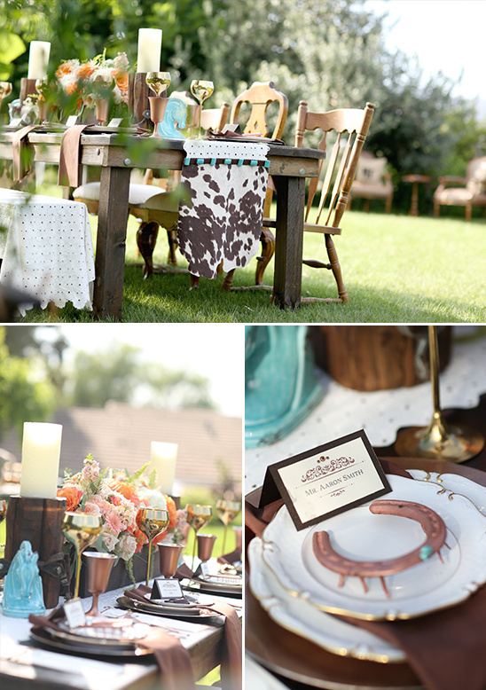 wedding reception table decor @weddingchicks