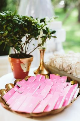 Perfectly Pretty Pink Wedding