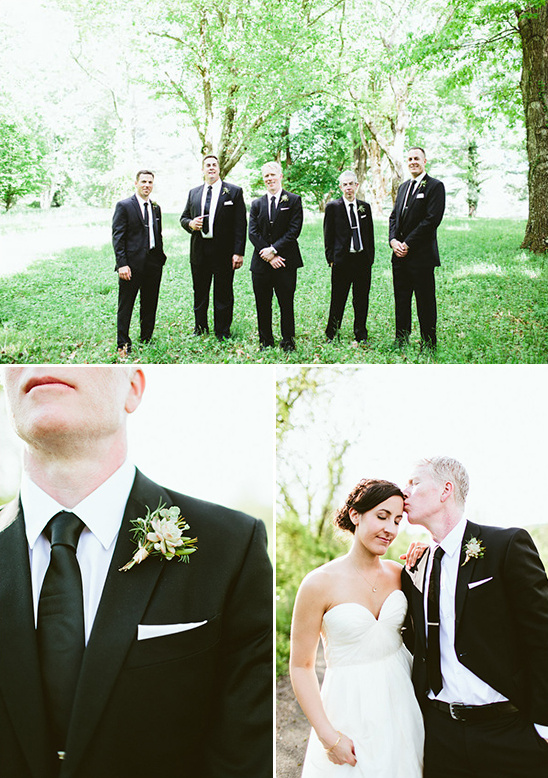 classic groomsmen wedding attire @weddingchicks