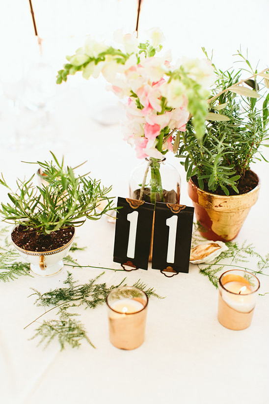 cute and classy table decor @weddingchicks
