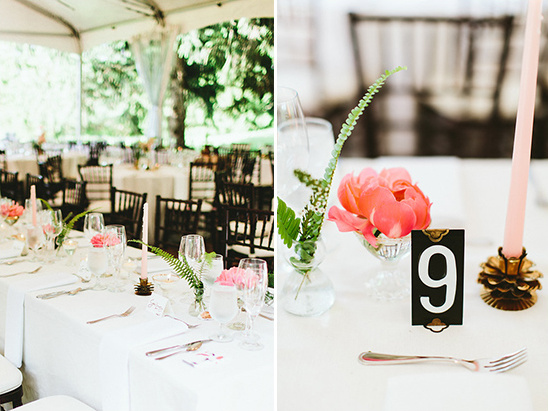 peony reception decor @weddingchicks