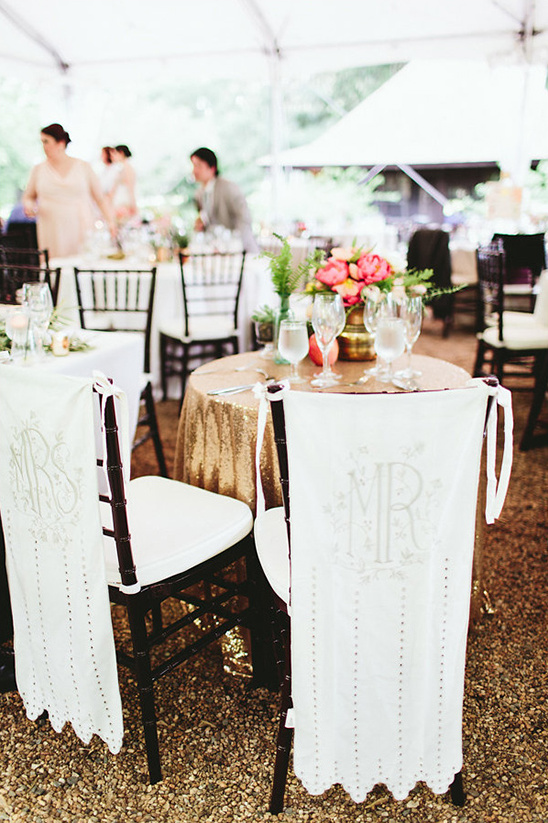 wedding chair signs @weddingchicks