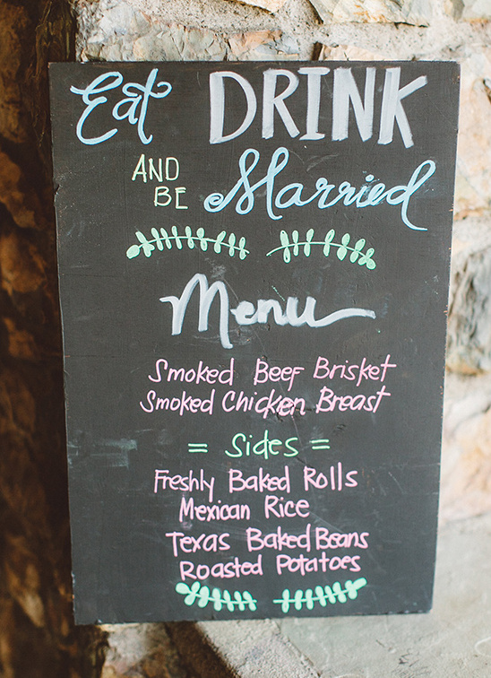 wedding menu ideas @weddingchicks