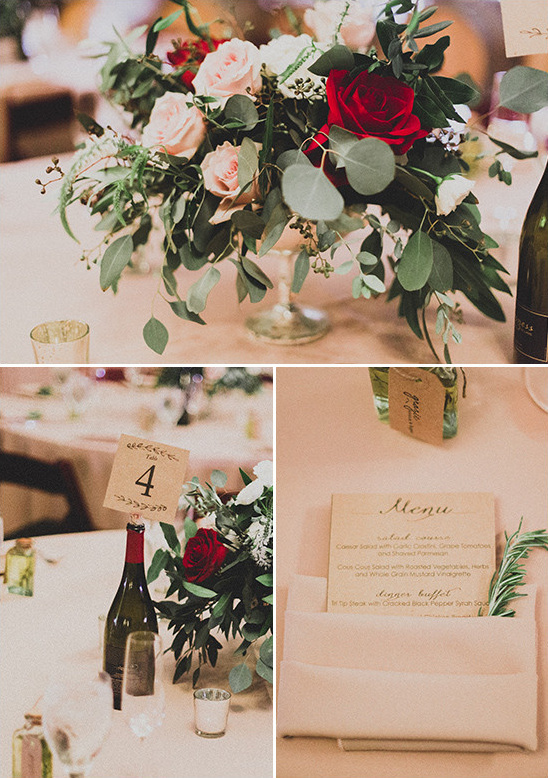 formal winary table decor @weddingchicks