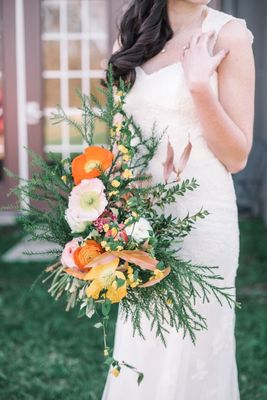 Whimsical Outdoor Wedding