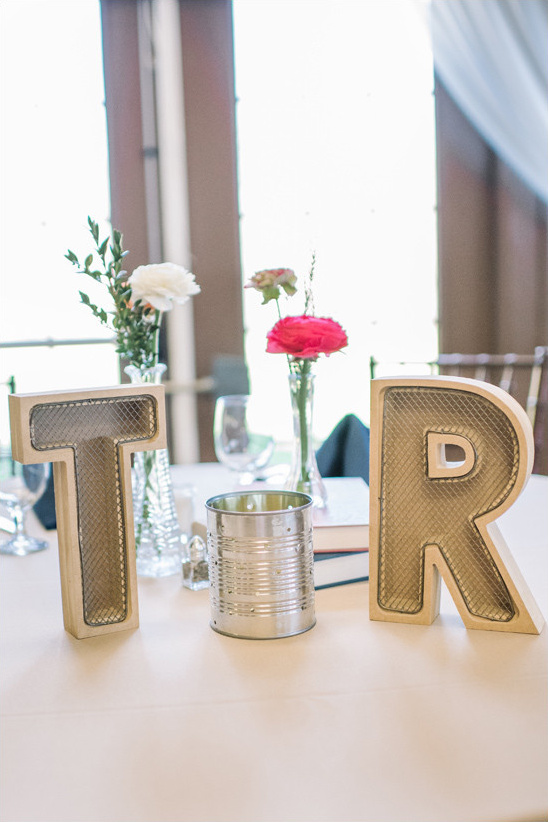 wedding initials @weddingchicks