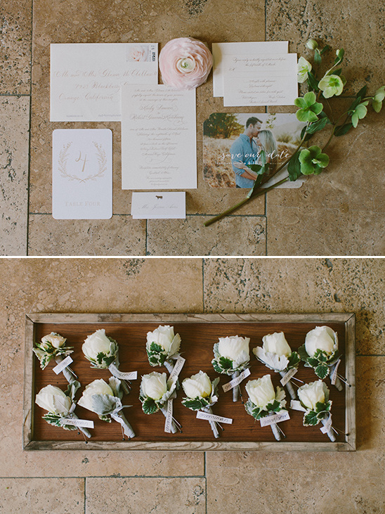 soft and sweet wedding stationery @weddingchicks