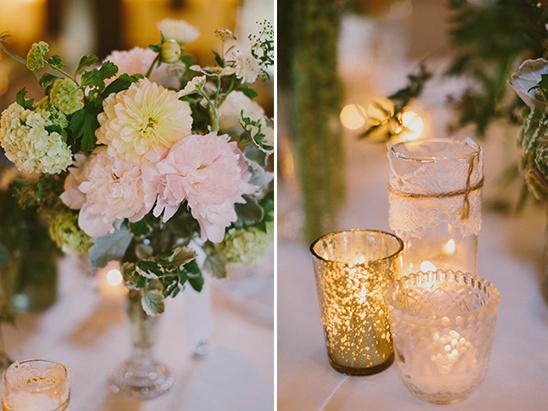 candle reception decor @weddingchicks
