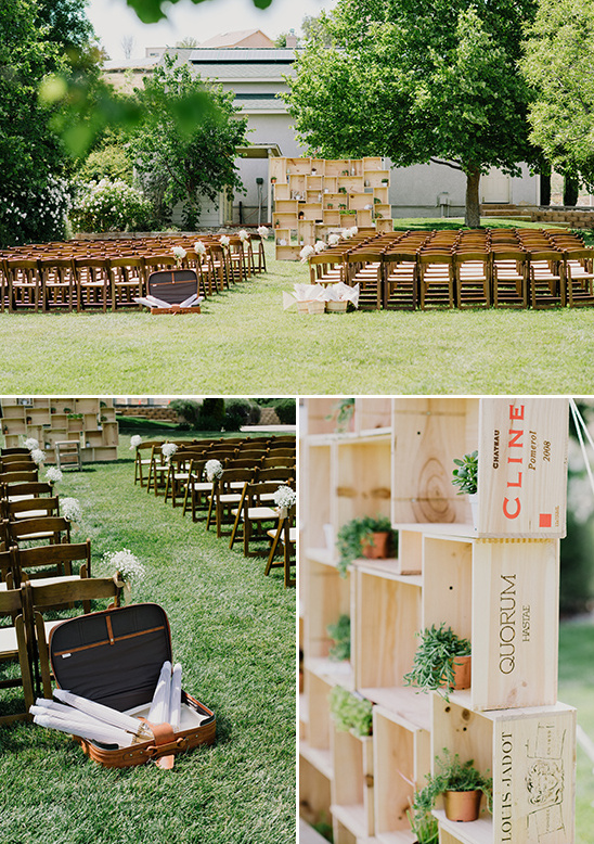 wedding ceremony decor ideas @weddingchicks