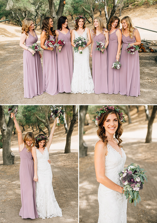 lavender bridesmaid dresses @weddingchicks