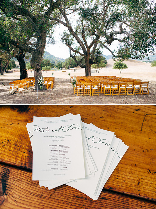 natural wedding ceremony ideas @weddingchicks