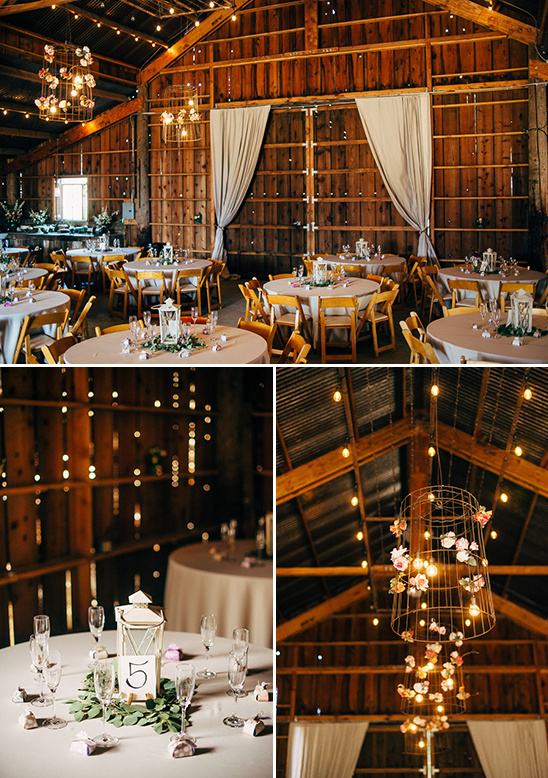 barn wedding reception ideas @weddingchicks