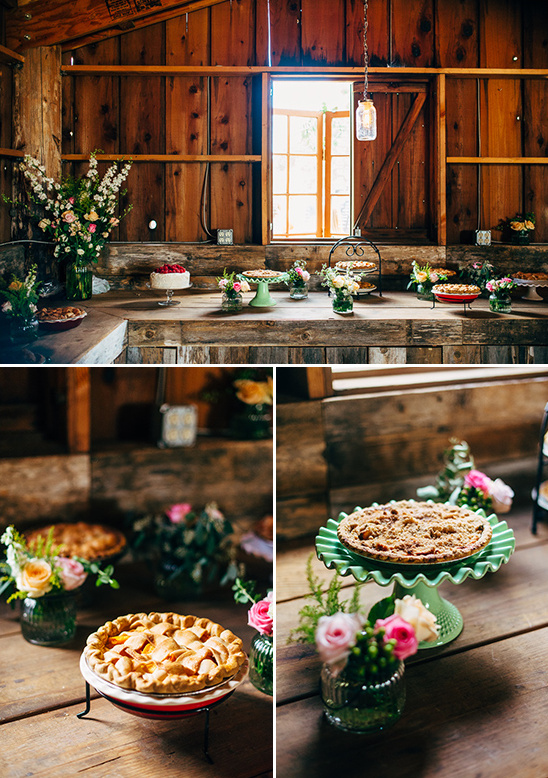 wedding pies @weddingchicks