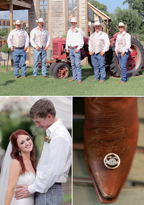 country wedding groomsmen @weddingchicks