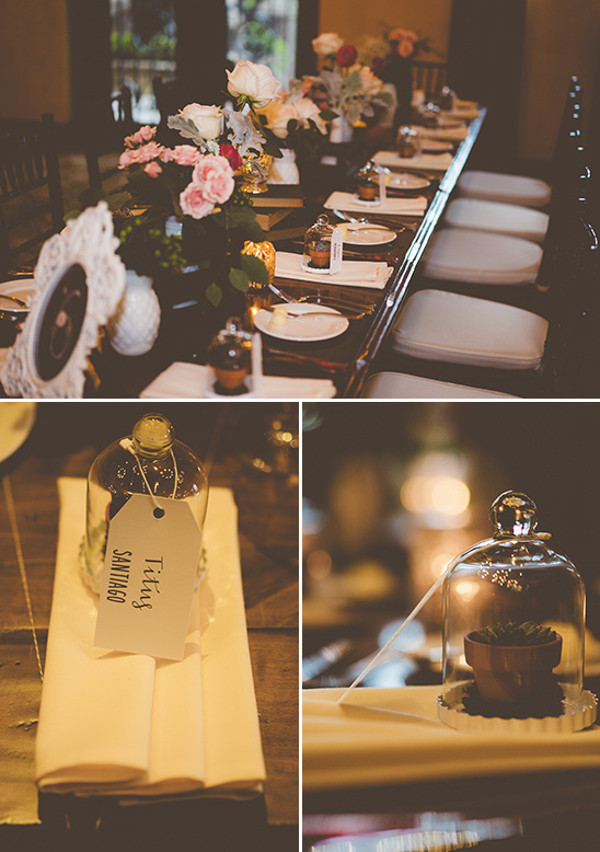vintage wedding reception decor @weddingchicks