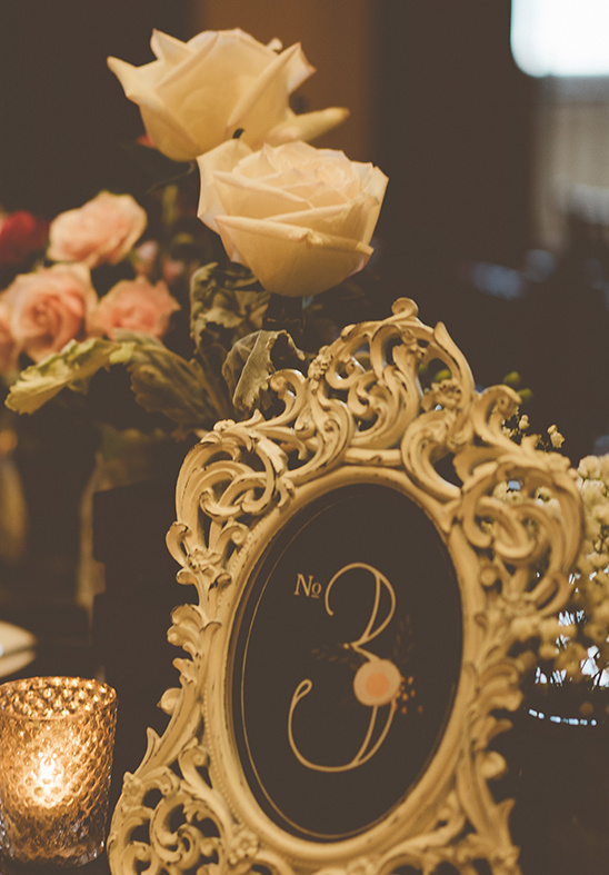 vintage table number ideas @weddingchicks