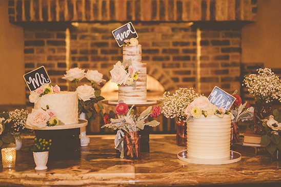 wedding cakes @weddingchicks