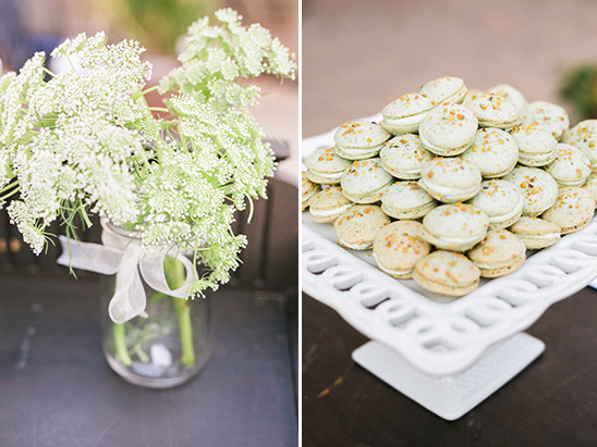 wedding macarons @weddingchicks