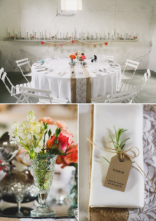 vintage wedding details @weddingchicks