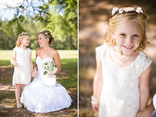 flower girl @weddingchicks