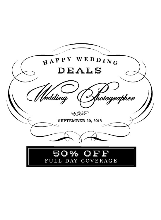 save on your wedding photographer @weddingchicks