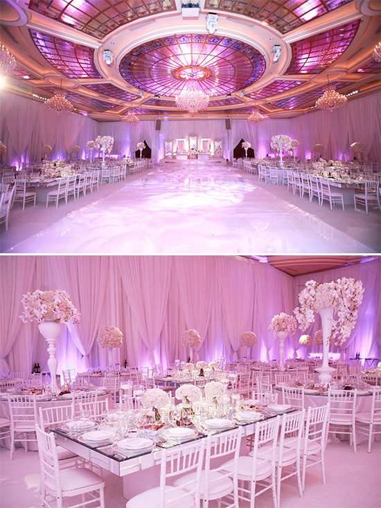 Glamorous wedding venue taglyancomplex.com @weddingchicks