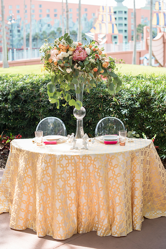 disney wedding reception @weddingchicks