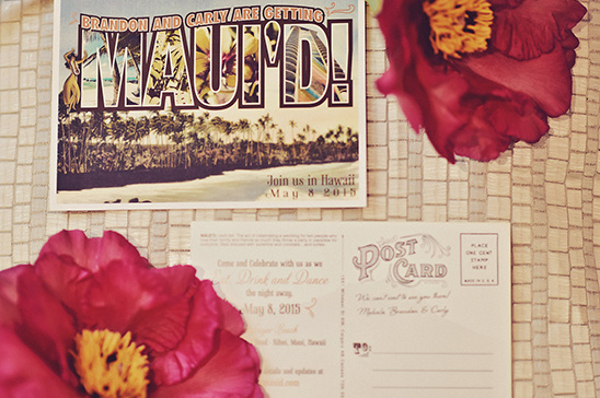 hawaiian wedding invites @weddingchicks
