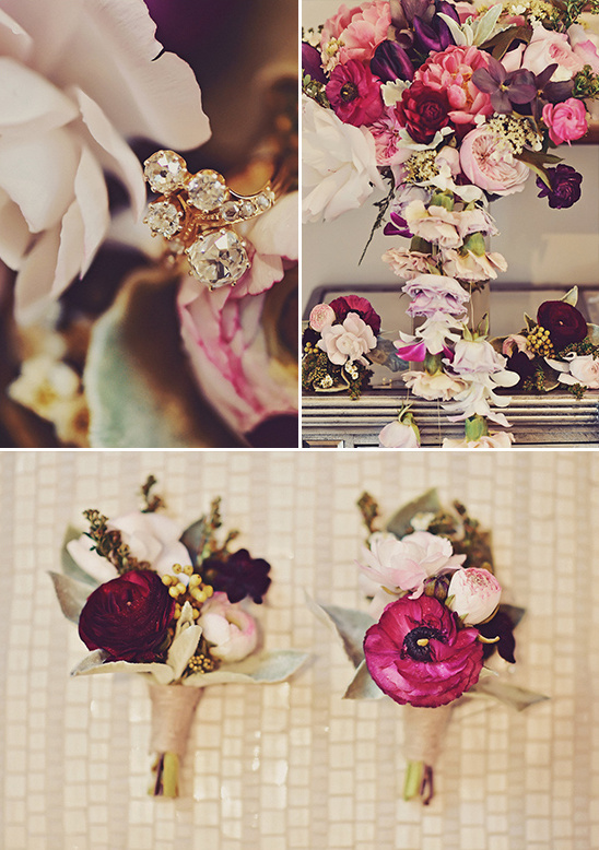 wedding flower details @weddingchicks