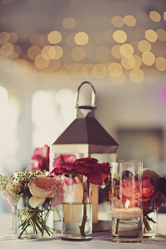 lantern table decor @weddingchicks