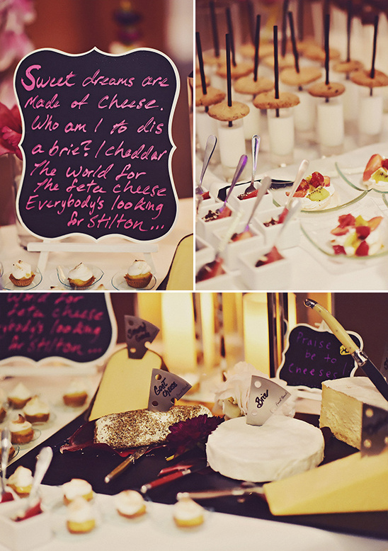 cheese table ideas @weddingchicks