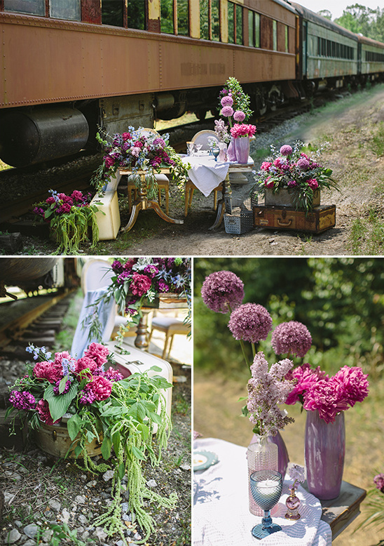 #purpleweddingdecor #weddingflowerarrangements @weddingchicks