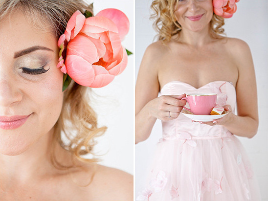 pink wedding accessories @weddingchicks
