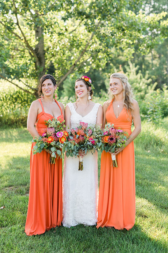 colorful and eclectic New York wedding @weddingchicks