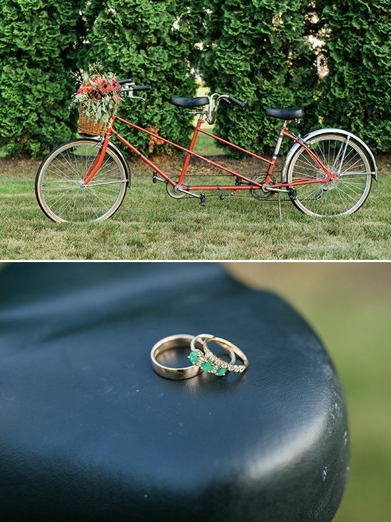 wedding tandem bike @weddingchicks