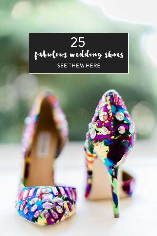 25 wedding shoes @weddingchicks
