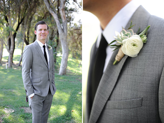 grey groomsmen attire @weddingchicks