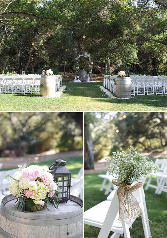 romantic wedding ceremony @weddingchicks