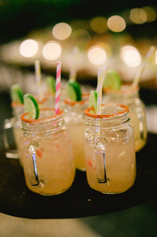 sweet and spicy margaritas @weddingchicks