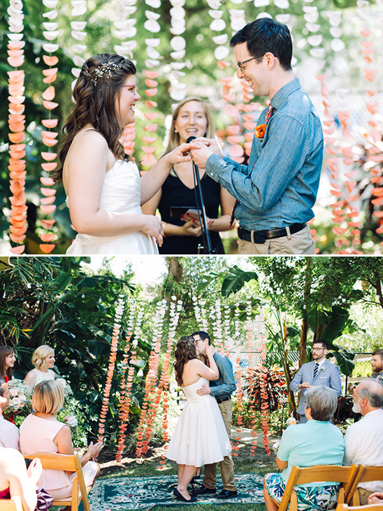outdoor ceremony @weddingchicks