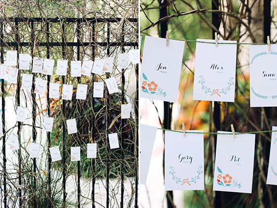 seating chart @weddingchicks